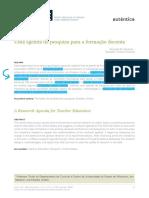 Zeichner- Agenda de Formação Docente- 2009