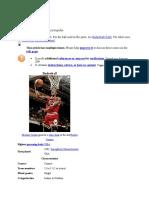 Basketball English