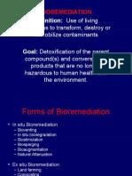 BIOREMEDIATION METHODS