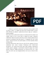 O PERÍODO BARROCO