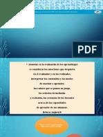 ENFOQUE FORMATIVO DE LA EVALUACIÓN DE LOS APRENDIZAJES
