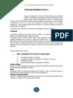 presentacion y contenido de HPP I