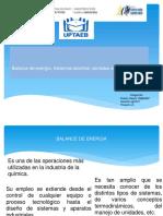BALANCE DE ENERGIA, SISTEMAS ABIERTOS Y CERRADOS