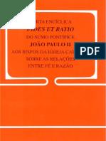 Fé e Razão - São João Paulo II