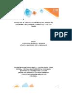 Anexo 1 - Plantilla Excel - Evaluación proyectos.