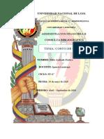 Costo de Capital Pablo Andrade