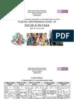 PLAN ESCUELA EN CASA 2 B.  ABRIL20-30