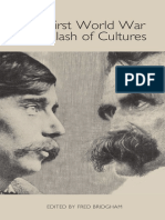 The First World War as a Clash of Cultures
