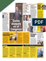 Duros Ataques Con el Congreso Trome (Peru)