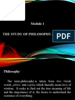 MODULE 1 THE STUDY OF PHILOSOPHY AND ETHICS.pptx