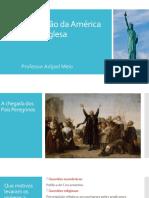 A colonização da América Inglesa