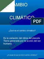 Cambi climatico