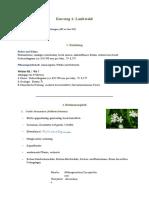 Botanik Protokoll