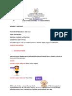 Quinta guía de español segundo