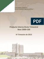 Pib IV Trimestre 2013
