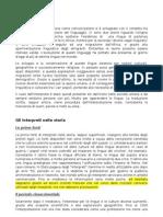 Teoria Dell'Interpretazione Consecutiva (Storia)