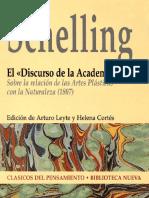 Schelling, J.W. El «Discurso de La Academia»