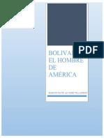 Bolívar El hombre de América