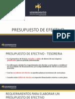presentacion7 ppto de efectivo