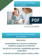 Tema 6 - Peculiaridades de la técnica en diferentes ámbitos. Técnica en adultos, etc.