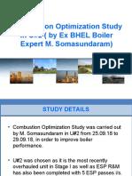 Combustion Optimization Study
