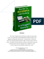 45732011 Secrets to Successful Job Hunting