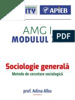 Modulul 7.5 Metode de cercetare sociologica (1)