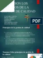 CUÁLES SON LOS PRINCIPIOS DE LA GESTIÓN DE