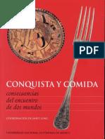 CONQUISTA Y COMIDA CONSECUENCIAS DEL ENCUENTRO DE DOS MUNDOS en pdf