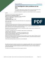 Practica Capitulo 9 - Investigación sobre problemas de las computadoras portátiles