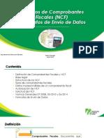 Números de Comprobantes Fiscales (NCF) y Formatos de Envío de Datos