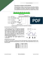 PIC18F2550 - Comparadores analógicos