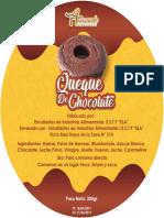 queque de chocolate