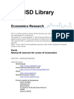 Databases EconomicsResearch v3 Aug2007