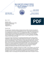 Ryan letter to WMCHealth re mental health beds