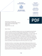 Metzger letter to HAHV re mental health beds