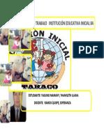 CUADERNO DE TRABAJOS   INSTITUCIÓN EDUCATIVA INICIAL
