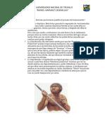 Cuáles fueron los factores que hicieron posible el proceso de hominización
