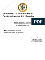 INFORME GIRA TECNICA FÉLIX RUIZ M.