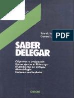 Korenblit Patrick Y Layole Gerard - Saber Delegar
