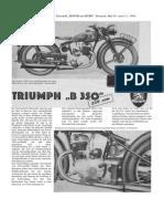 B 350 - Prüfbericht - Motor und Sport 1939