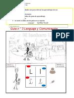 lenguaje 1° guía n° 3