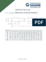 671DIN 2510 Form ZU