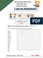 ANTONIMOS PARTE 1