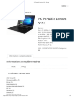 PC Portable Lenovo V110 - Amopi