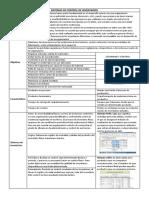 matriz del sistema de control de inventarios