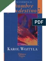 355210125 El Hombre y Su Destino Karol Wojtyla