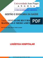 Gestão de Recursos Materiais e Medicamentos…...ppt