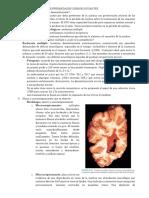 5. Enfermedades desmielinizantes, degenerativas, espinocerebelosas