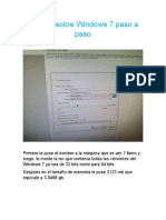 Informe sobre Windows 7 paso a paso FIERRO.docx